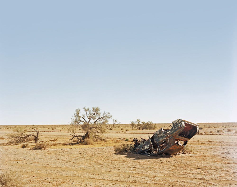 Joseph Kelly-William Creek - Wrecked Car